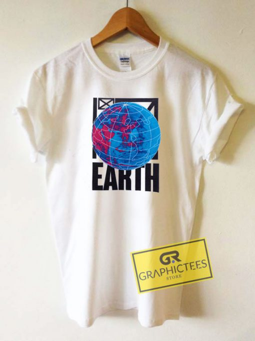 Earth Stand Graphic Tee Shirts