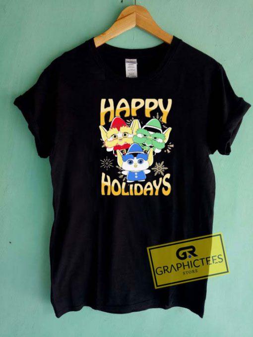 Elves Happy Holidays Tee Shirts