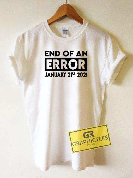 End Of An Error Box Tee Shirts