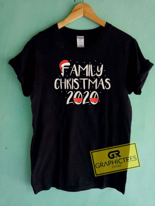Family Christmas 2020 Santa Hat Tee Shirts