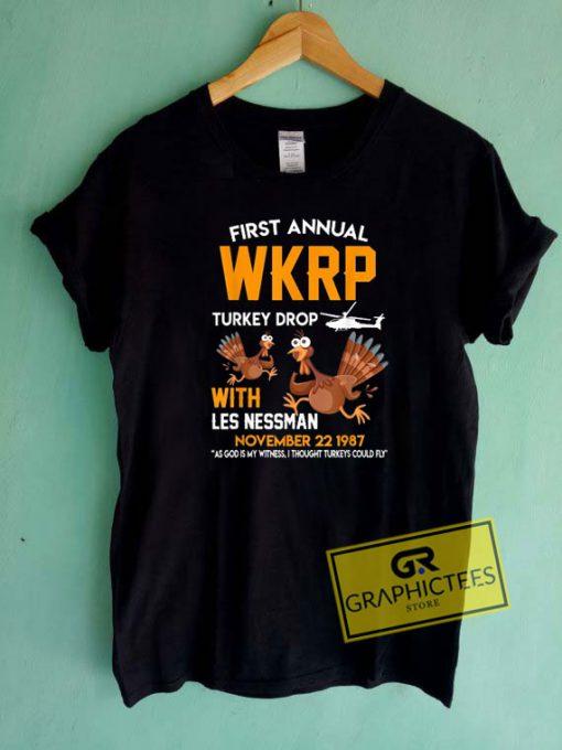 First Annual WKRP Turkey Drop Tee Shirts