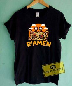 Flying Spaghetti Monster Ramen Tee Shirts