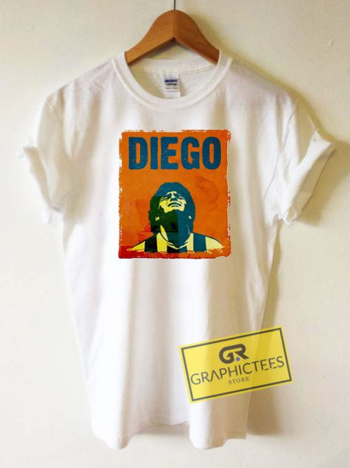 Football Maradona Tee Shirts