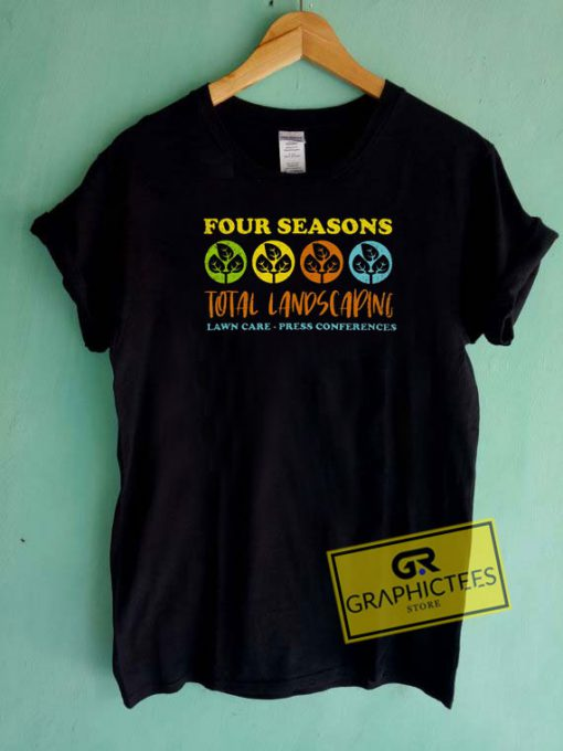 Four Seasons Landscaping Lawn Tee Shirts