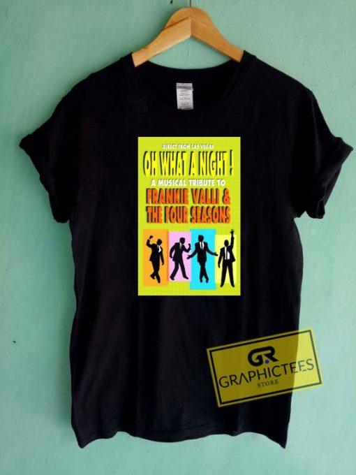 Frankie Valli And The Four Seasons Tee Shirts
