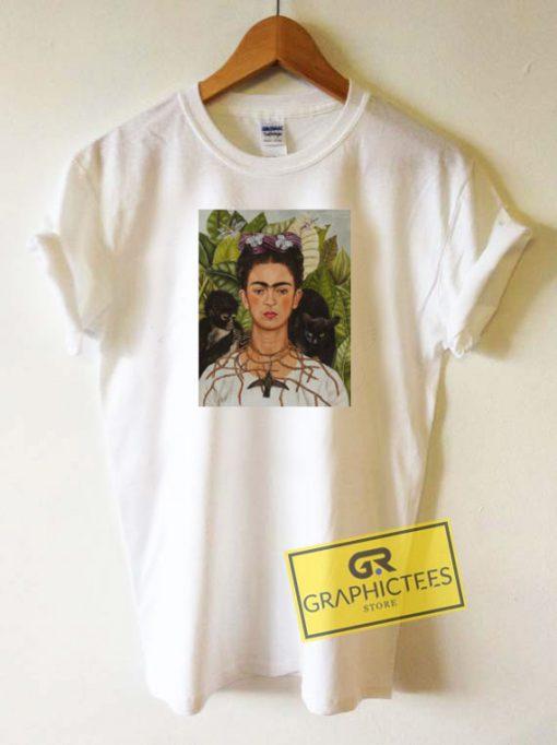 Frida Kahlo Self Portrait Tee Shirts