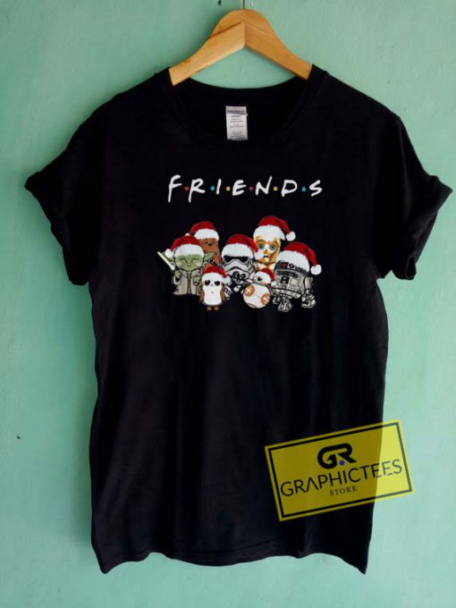 Friends Chibi Christmas Tee Shirts