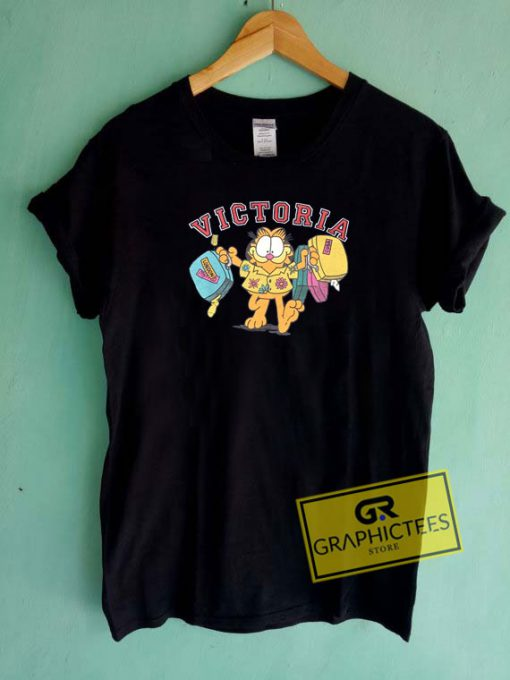 Garfield On Tour Victoria Tee Shirts
