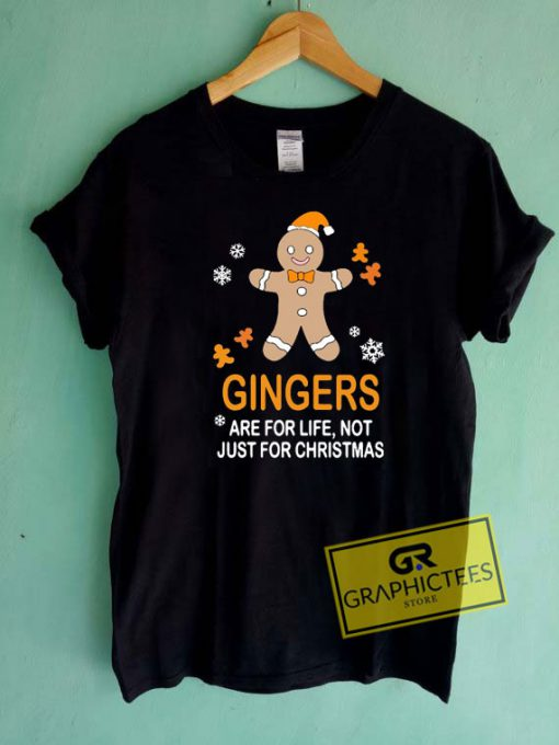 Gingers Are For Life Christmas Tee Shirts