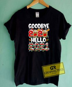 Goodbye 2020 Hello 2021 Art Tee Shirts