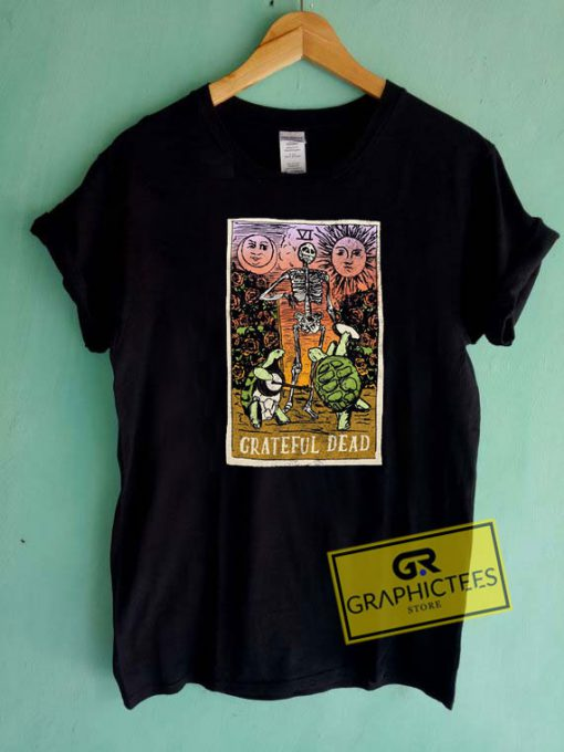 Grateful Dead Tarot Card Girls Tee Shirts