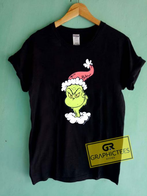 Grinch Christmas Graphic Tee Shirts