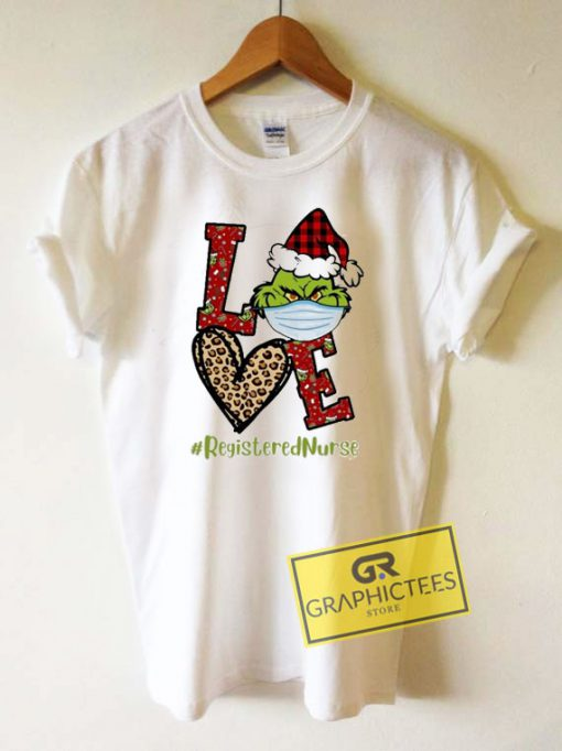 Grinch Santa Love Christmas Tee Shirts