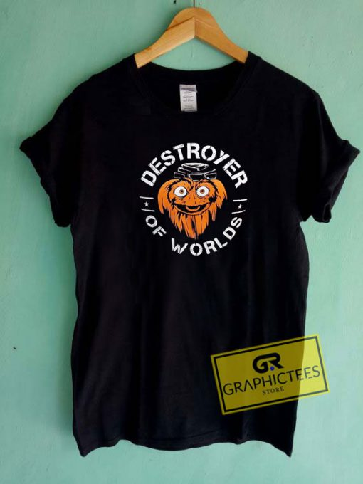 Gritty Destroyer Of Worlds Tee Shirts