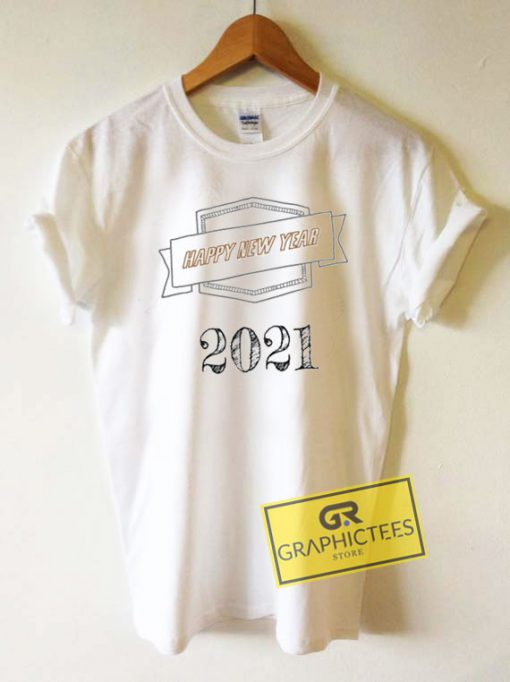 Happy New Year 2021 Line Tee Shirts