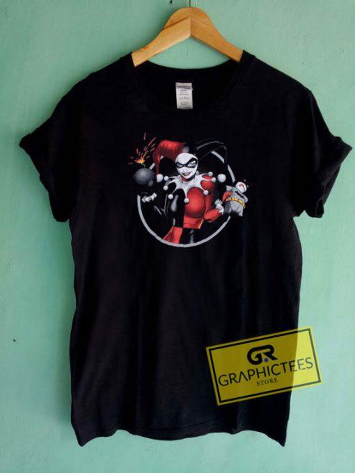 Harley Quinn Boom Tee Shirts