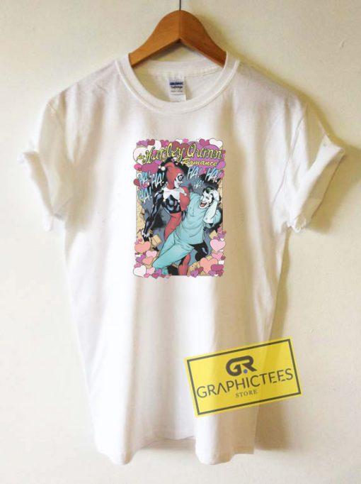 Harley Quinn The Joker Romance Tee Shirts