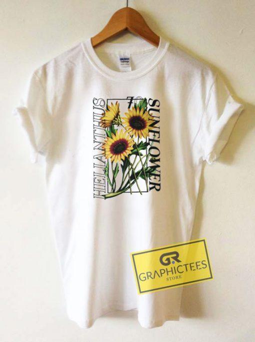 Helianthus Sunflower Tee Shirts
