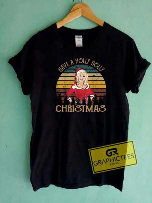Holly Dolly Christmas Vintage Tee Shirts