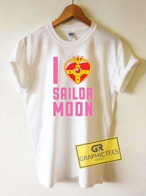 I Heart Sailor Moon Tee Shirts