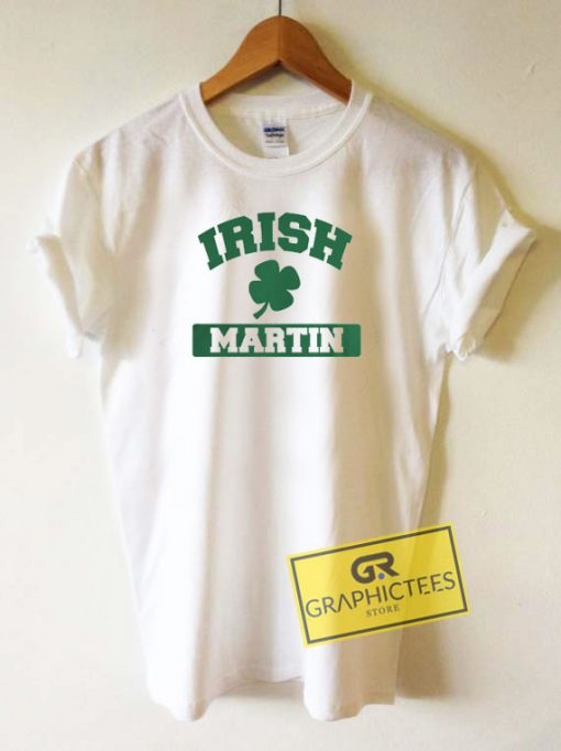 Irish Martin Graphic Tee Shirts