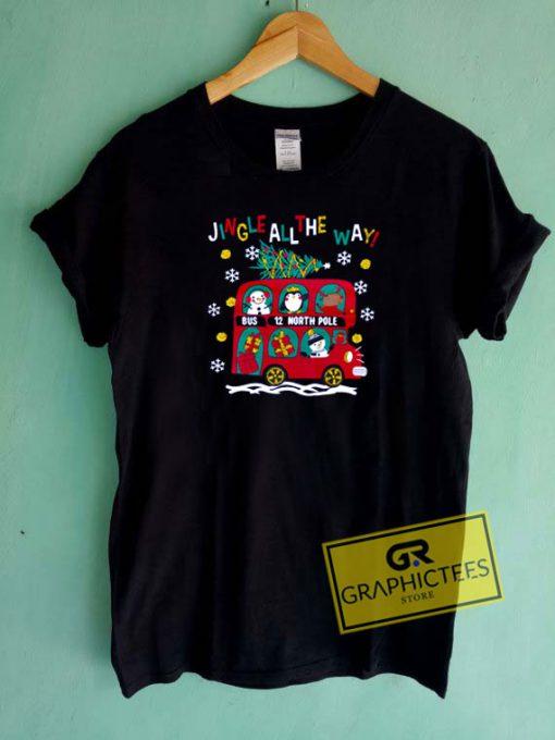 Jingle My Bells Bus Christmas Tee Shirts