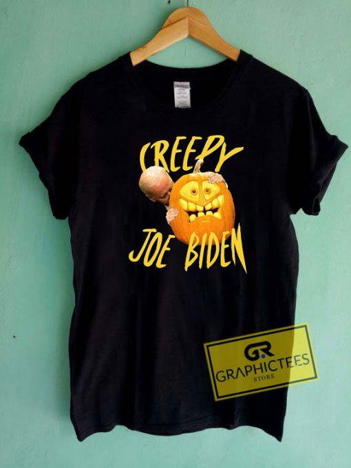 Joe Biden Hug Pumpkin Creepy Tee Shirts