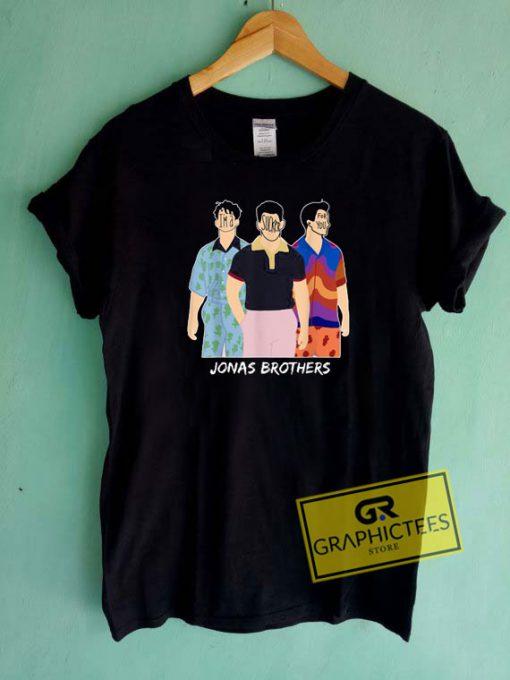 Jonas Brother Cartoon Tee Shirts