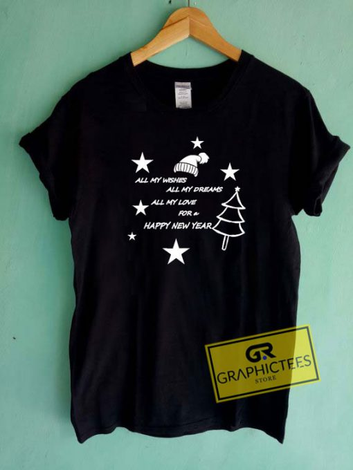 Love For A Happy New Year Tee Shirts