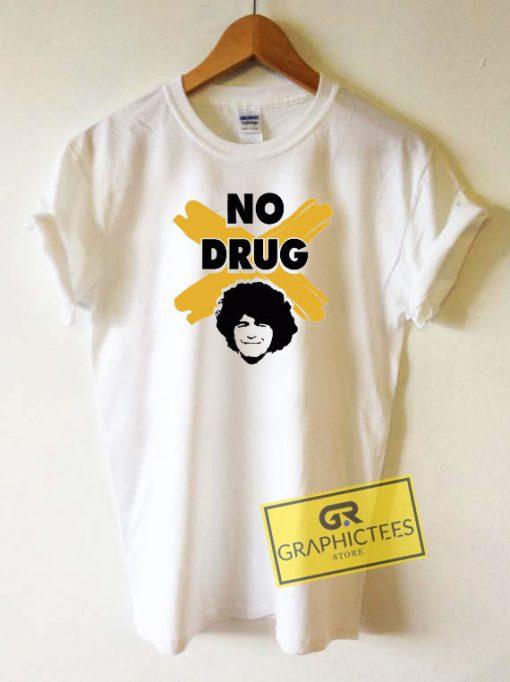 Maradona No Drug Tee Shirts