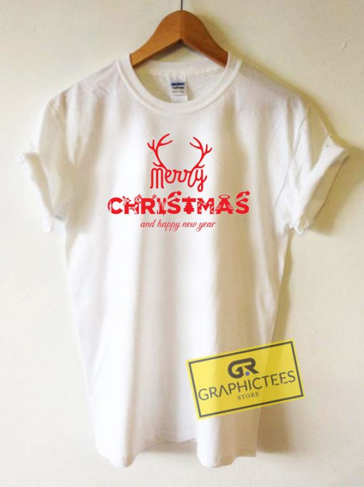 Merry Christmas And Happy New Year Tee Shirts