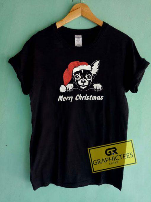 Merry Christmas Dog Tee Shirts