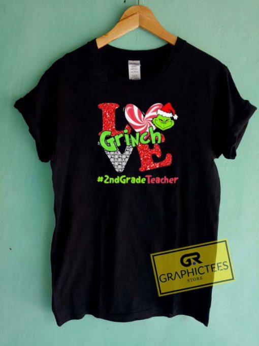 Merry Christmas Grinch Love Tee Shirts