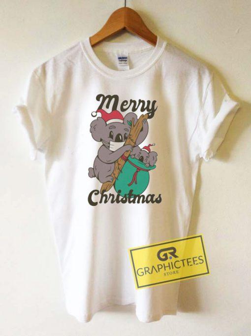 Merry Christmas Koala Tee Shirts