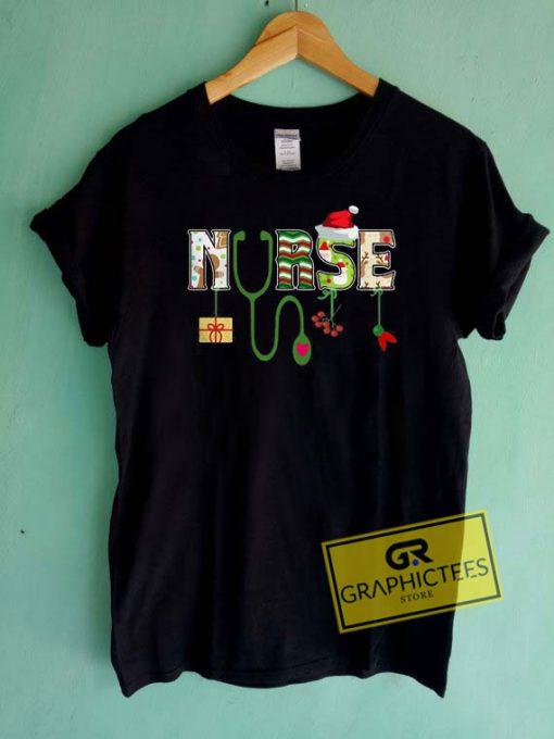 Merry Christmas Nurse Tee Shirts