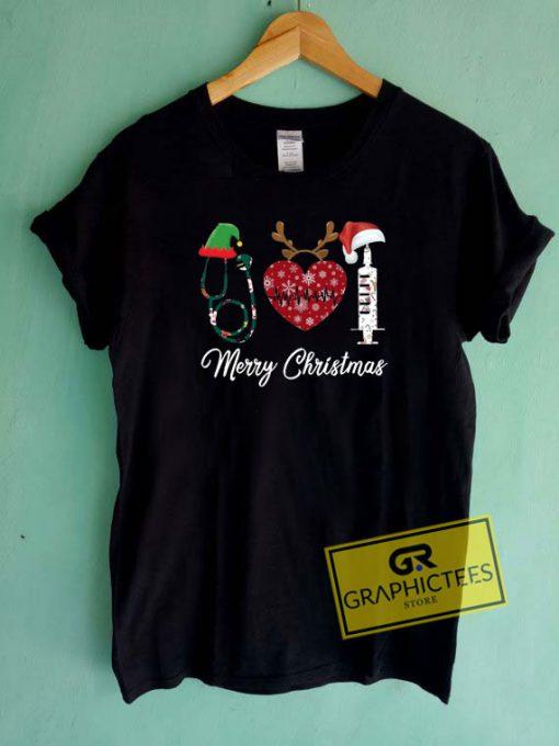 Merry Christmas Nursing Tee Shirts