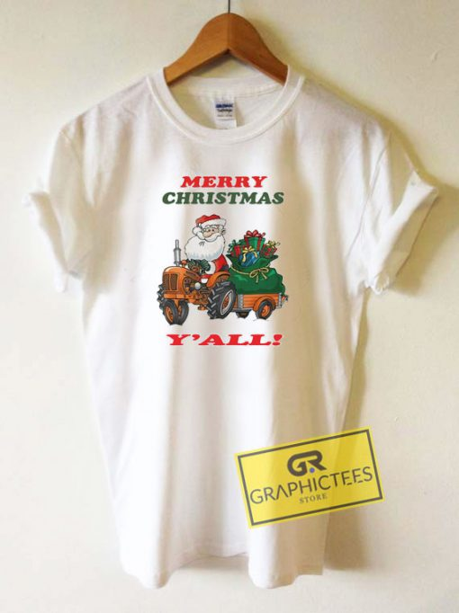 Merry Christmas Yall Tee Shirts