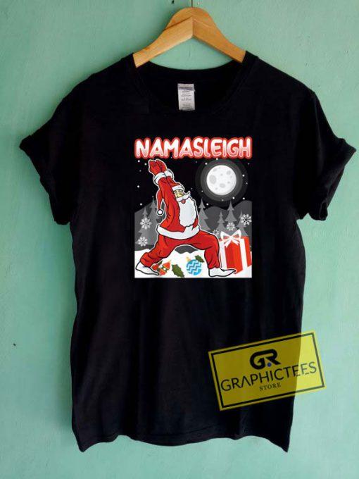 Namasleigh Meditating Santa Tee Shirts