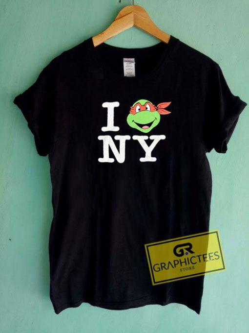 Ninja Turtles I Love NY Tee Shirts