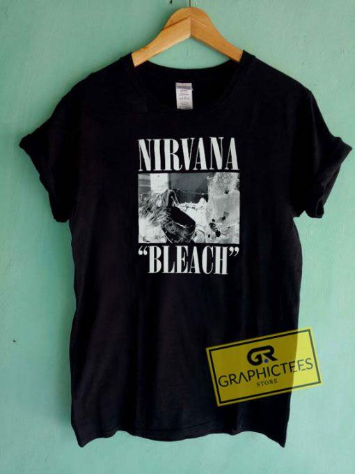 Nirvana Bleach Tee Shirts