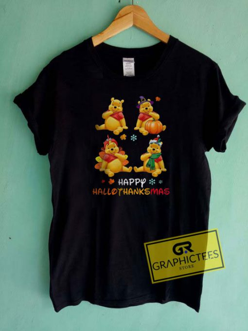 Not For Pooh Merry Christmas Tee Shirts