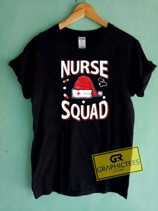 Nurse Squad Christmas Tee Shirts