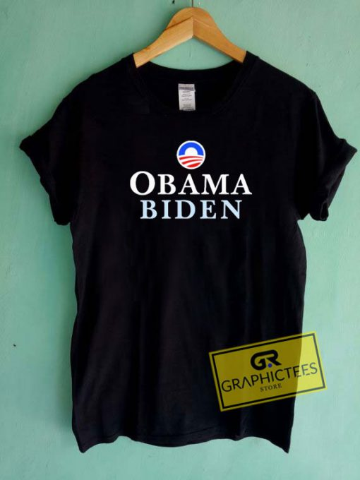Obama Biden Graphic Tee Shirts