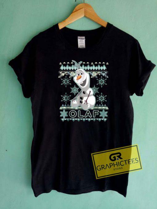 Olaf Christmas Tee Shirts