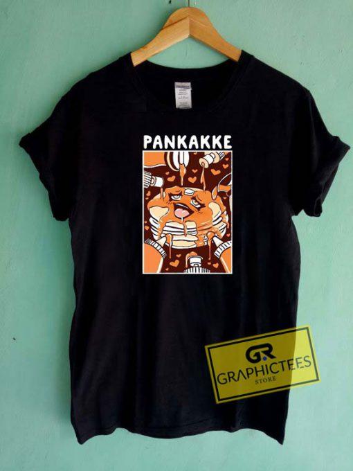 Pankakke Ahegao Pancake Tee Shirts