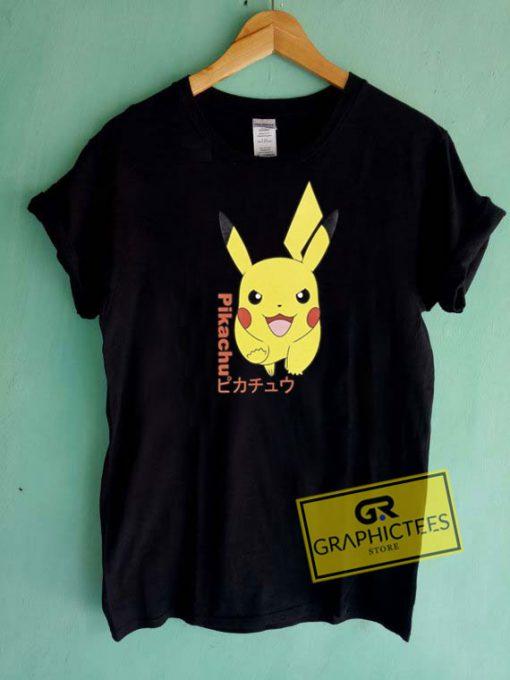 Pokemon Pikachu Tee Shirts