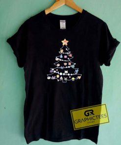 Pokemon Tree Christmas Tee Shirts