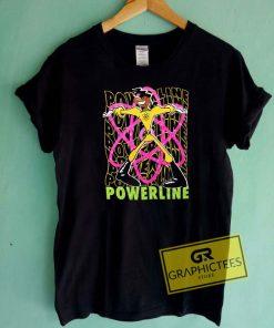 Powerline Graphic Tee Shirts
