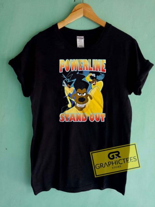 Powerline Stand Out Tee Shirts