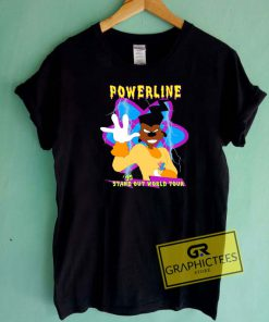 Powerline Stand Out World Tour Tee Shirts